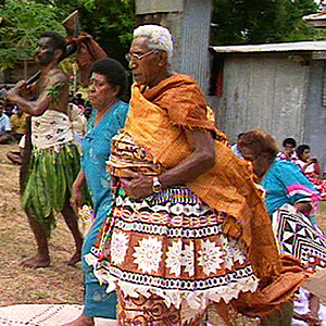 Traditional Installation of a Fijian Paramount Chief